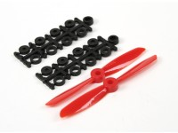 4045 Electric Propellers (CW and CCW) Red 1 pair/bag