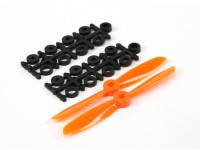 4045 Electric Propellers (CW and CCW) Orange 1 pair/bag
