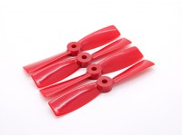 "Dalprops ""Indestructible"" Bull Nose 4045 Propellers CW/CCW Set Red (2 pairs)"