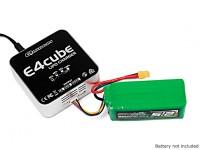 Quanum E4 Cube 50W Balance Charger for LiPo 100~240V AC (UK Plug)
