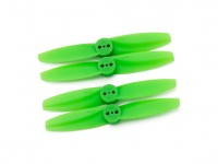 Gemfan T Style Polycarbonate 3025 2 Bladed Green (CW/CCW) (2 Pair)