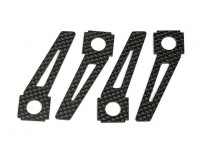 Quanum Chaotic 3D Quad - Replacement Carbon Fiber Skids (4pc)