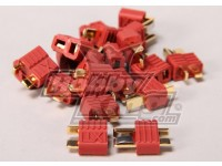 Nylon T-Connectors 10 Pairs (20pc)
