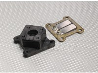 RCGF 26cc Reed Block and Manifold