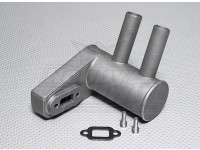 Pitts Muffler for 26cc gas engine