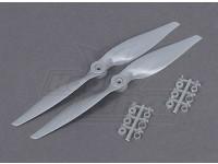 Aerostar Composite Propeller 10x5  Grey (CCW) (2pcs)
