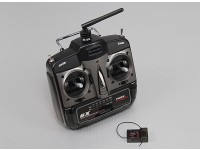Turnigy 6X FHSS 2.4ghz Transmitter and Receiver (Mode 1)