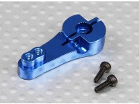 Heavy Duty 25T Aluminum Servo Arm - Futaba (Blue)