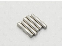 2mm x 10mm Steel Pin Turnigy TD10 4WD Touring Car PN 2010 (6pc)