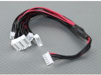 JST-XH Parallel Balance Lead 4S 250mm (6xJST-XH)