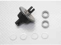 Diff. Gearbox - 1/10 Quanum Vandal 4WD Racing Buggy