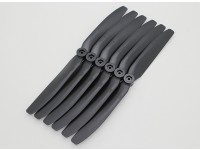 GWS EP Propeller (DD-8040 203x102mm) black (6pcs/set)