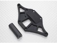 Rear Spur Gear Cover - 1/10 Quanum Vandal 4WD Racing Buggy