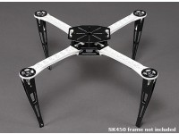 Extended Landing Skid Set for SK450 Quadcopter Frame
