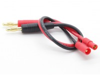 HXT 3.5mm Charge Lead with 4mm Banana Plugs (1pc)