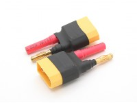 XT90 to 4.0mm bullet Battery Adapter (2pcs/bag)