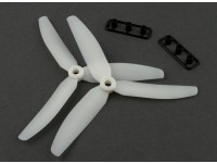 Gemfan Glow in the Dark Propeller 5x3 3-Blade (CW/CCW) (2pcs)