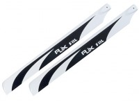 RJX High Quality Carbon Fiber Main Blades (520mm) FBL