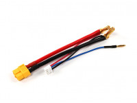 XT60 plug Harness for 2S Hardcase Lipo with 5mm Bullet Connector and JST-XH (1pc)