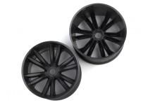 BSR Berserker 1/8 Electric Truggy - Rim (Black) (1 pair) 817251-K