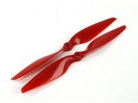 Aerostar Composite Propeller 10x5.5 Red (CW/CCW) (2pcs)