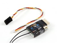 FrSky X4RA 3/16ch 2.4Ghz ACCST Receiver w/S.BUS, Smart Port & telemetry (EU LBT version)