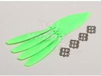 GWS Style Slowfly Propeller 11x4.7 Green (CCW) (4pcs)
