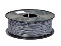 HobbyKing 3D Printer Filament 1.75mm PLA 1KG Spool (Metallic Silver)