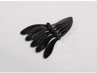 HobbyKing™ Propeller 6x5 Black (CW) (5pcs)