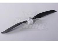 Folding Propeller W/Alloy Hub 45mm/4mm Shaft 12x7 (1pc)