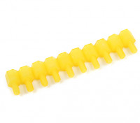 Nylon Spacer 10mm M3 M/F Yellow (10pcs)