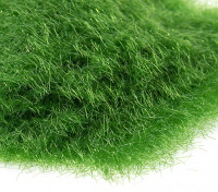 3mm Static Grass Flock - Medium Dark Green (250g)