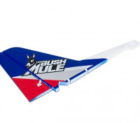 Avios BushMule - Vertical Tail w/Stickers (Red/Blue)