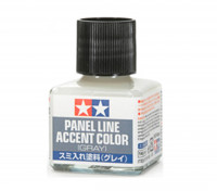 Tamiya Panel Line Enamel Accent Color Gray (40ml)