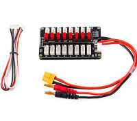 HobbyKing™ 8 x JST/2S/3S LiPoly Battery Parallel Charging Board