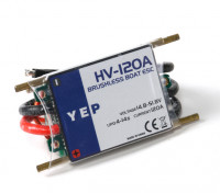 YEP 120A HV (4~14S) Marine Brushless Speed Controller (Opto)