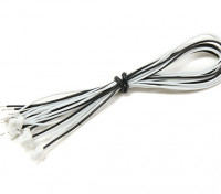 JST-SH 3Pin Female Plug with 200mm Wire Pigtail (5pcs)