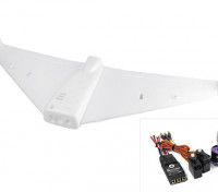 ExplorerBee FPV Flying Wing 1020mm Wingspan w/Motor, ESC, Servos (ARF)