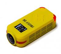 Hawkeye Firefly Q6 4K FPV Sport DV Action Camera (Yellow)