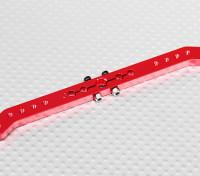 Heavy Duty Alloy 4.6in 23T Pull-Pull Servo Arm - JR (Red)
