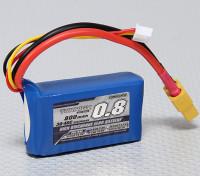 Turnigy 800mAh 2S 30C Lipo Pack
