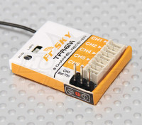 FrSky TFR6M 2.4Ghz 6CH Micro Receiver FASST Compatible