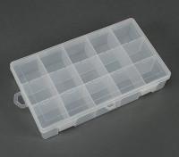Plastic Multi-Purpose Organizer - Large 15 Compartment