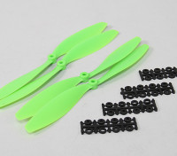 10x4.5 SF Props 2pc CW 2pc CCW (Green)
