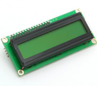Kingduino IIC/I2C 1602 LCD Module with Yellow/Green Display