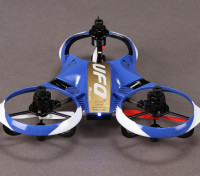UFO Y-4 Micro Multicopter w/2.4GHz Transmitter and Auto-Flip Feature (Mode 2) (RTF)