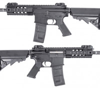 King Arms 516 PDW AEG (Black, Short Ver.)