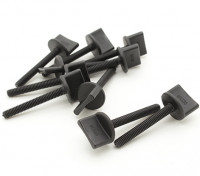 Nylon Thumbscrew Wing Bolt M4x30 (10pcs)