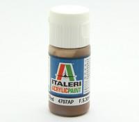 Italeri Acrylic Paint - Flat Earth Red (4707AP)