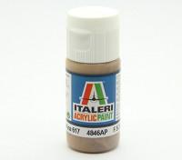 Italeri Acrylic Paint - Flat Dark Earth Ana 617 (4846AP)
